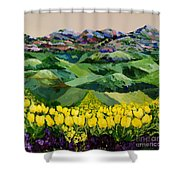 Majestic Parade Shower Curtain