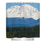 Majestic Rainier Shower Curtain