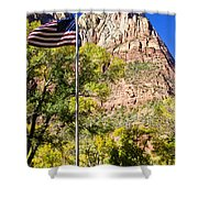 Majestic Sight - Zion National Park Shower Curtain