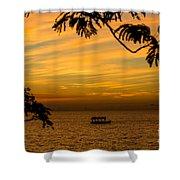 Majestic Sunset Shower Curtain