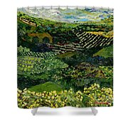 Majestic Valley Shower Curtain