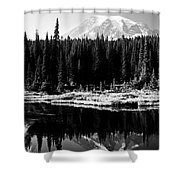 Majestic View 2bw Shower Curtain