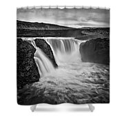 Majesty Of Infernal Shower Curtain