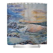 Majesty Of The Seas Shower Curtain