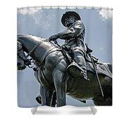 Major-general Oliver Howard  Shower Curtain