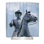 Major-general Winfield S. Hancock  - 2 Shower Curtain