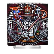 Major Nichols Shower Curtain by Mark Howard Jones