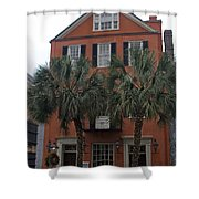 Major Peter Bocquet House Charleston South Carolina Shower Curtain