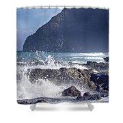 Makapuu Point Lighthouse- Oahu Hawaii V3 Shower Curtain