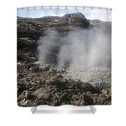 Makapuu Tidepools Shower Curtain