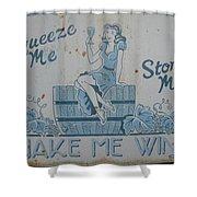 Make Me Wine Shower Curtain