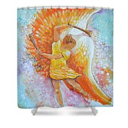 Make Your Soul Shine Shower Curtain