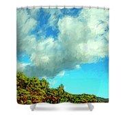 Makena Beach Maui Shower Curtain