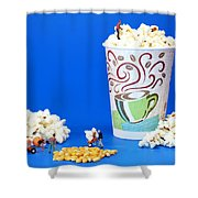 Making Popcorn Shower Curtain
