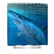 Mako Shark Shower Curtain