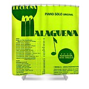 Malaguena Shower Curtain