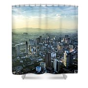 Malaysia Aerial Shower Curtain