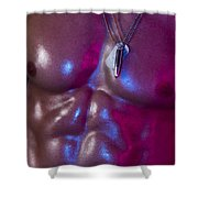 Opia  Shower Curtain