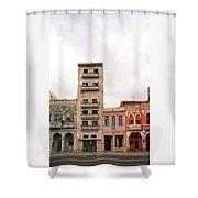 Malecon Shower Curtain