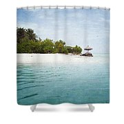 Maledives Shower Curtain