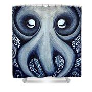 Malekei The Octopi Shower Curtain