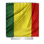 Mali Flag Shower Curtain