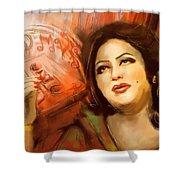 Malika Tarranum Shower Curtain