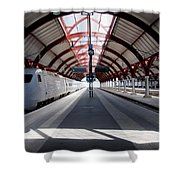 Malmo Central Station Shower Curtain