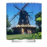 Malmo Windmill Shower Curtain