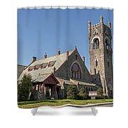 Malone Church Shower Curtain