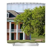 Malus Beauregard House Shower Curtain