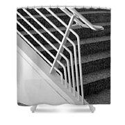 Mam Art Deco Stairs Shower Curtain