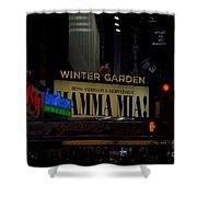 Mama Mia Shower Curtain