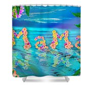 Mama Ocean Shower Curtain