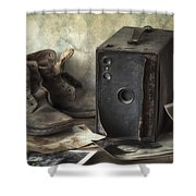 Mama's Memories Shower Curtain by Amy Weiss