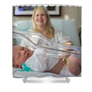 Mama's Pride And Joy Shower Curtain