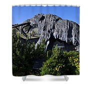 Mammoth Mountain Ski Area Shower Curtain