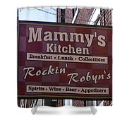 Mammy's Kitchen In Bardstown Kentucky Shower Curtain