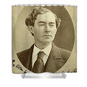 Man, 1874 Shower Curtain