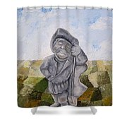Man And Earth Shower Curtain