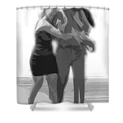 Man And Woman Shower Curtain