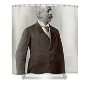 Man, C1900 Shower Curtain