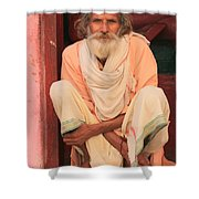 Man From India Shower Curtain