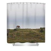Manana Goats Shower Curtain