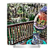 Manatee Color Shower Curtain
