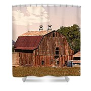 Mancos Colorado Barn Shower Curtain