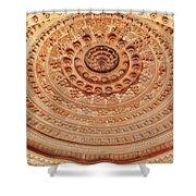 Mandala - Jain Temple Ceiling - Amarkantak India Shower Curtain