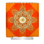 Mandala 014-2 Shower Curtain