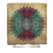 Mandala Crystal Shower Curtain