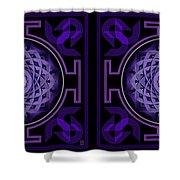 Mandala Hypurplectic - Stereogram Shower Curtain